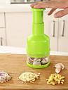 1 Pças. Cutter & Slicer For para Vegetable Aço Inoxidável Alta qualidade / Creative Kitchen Gadget / Novidades