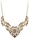 Жен. Заявление ожерелья - Винтаж, Мода, Массивный Золотой Ожерелье Назначение Свадьба, Для вечеринок, Повседневные