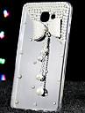 For Samsung Galaxy Case Rhinestone / Transparent Case Back Cover Case 3D Cartoon Acrylic Samsung A9