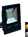 LED Floodlight 42 SMD 2835 1600-1800 lm Warm White Cold White 6000-6500K/3000-3200K K Waterproof AC 220-240 V