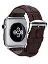 시계 밴드 용 Apple Watch Series 3 / 2 / 1 Apple 클래식 버클 천연 가죽 손목 스트랩