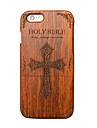 147 iPhone 6 Case Case Cover Ultra-thin Other Back Cover Case Word / Phrase Hard Wooden for Apple