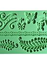 Backwerkzeuge Silikon Umweltfreundlich / 3D Brot / Kuchen / Obstkuchen Backform 1pc