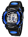 Children/Men's SYNOKE LEO Dial Digital PU Black Band Water Resistant Wrist Watch Cool Watches Unique Watches Fashion Watch