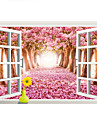 Decorative Wall Stickers - 3D Wall Stickers Landscape Living Room / Bedroom / Bathroom / Removable