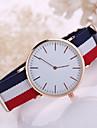 Муж. Модные часы Кварцевый Повседневные часы Материал Группа Черный Белый Синий Красный