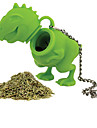 1Pcs Silicone Dinosaur Shape Tea Infuser Loose Leaf Strainer Herbal Silicone Filter Diffuser