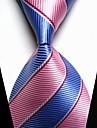 Alla moda Blu / Rosa Tessuto Da uomo Tie Bar-1 pezzo