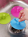 Kitchen Cleaning Supplies Silicone Drain Cleaner Tools 1pc