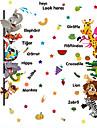 Животные Наклейки Наклейки для животных Декоративные наклейки на стены, Винил Украшение дома Наклейка на стену Стена