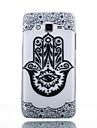 TPU Material Flower Gesture Pattern Cellphone Case for Samsung Galaxy J7/J510/J5/J310/G530/G360