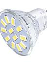 GU4(MR11) Lampadas de Foco de LED MR11 12 leds SMD 5733 Decorativa Branco Quente Branco Frio 250lm 3000/6000K 30/9V