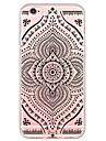 Pour Coque iPhone 6 Coques iPhone 6 Plus Ultrafine Translucide Coque Coque Arriere Coque Mandala Flexible PUT pour AppleiPhone 6s Plus/6