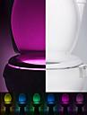 YWXLIGHT® 200 lm G9 Festoon Banyo Aydınlatması Gömme Uyumlu 1 led Entegre LED Sensör Kızılötesi Sensör Dekorotif RGB DC 5V Pil
