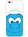 Для Кейс для iPhone 6 / Кейс для iPhone 6 Plus Защита от удара / Защита от пыли / Прозрачный / С узором Кейс для Задняя крышка Кейс для
