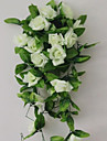 Artificial Flowers 1 Branch Modern Style Roses Wall Flower