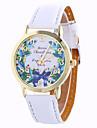 Fashion Girl Quartz Watch Clock Women Leather Casual Dress Women\'s Flower Wristwatch Hot Cool Watches Unique Watches