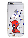 Doll HD Pattern Embossed Acrylic Material TPU Phone Case For iPhone 7 7 Plus 6s 6 Plus