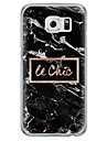 Case For Samsung Galaxy Samsung Galaxy S7 Edge Ultra-thin Translucent Back Cover Marble Soft TPU for S7 edge S7 S6 edge plus S6 edge S6