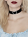 Women\'s Heart Imitation Diamond Choker Necklace Tattoo Choker Statement Necklace - Luxury Tattoo Style Vintage Cute Party Casual Love