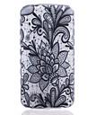 Pour Coque LG Transparente Motif Coque Coque Arriere Coque Fleur Flexible PUT pour LG LG K10 LG K8 LG K7 LG K4 LG G5 LG G4 LG G3