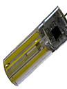 450-700lm G4 Двухштырьковые LED лампы T 5 Светодиодные бусины COB Декоративная Тёплый белый Холодный белый 85-265V 220-240V