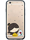 Pour Coque iPhone 6 Coques iPhone 6 Plus Transparente Motif Coque Coque Arriere Coque Dessin Anime Flexible PUT pour AppleiPhone 6s