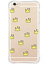 Para iPhone X iPhone 8 iPhone 6 iPhone 6 Plus Capinha iPhone 5 Case Tampa Antichoque Anti-poeira Transparente Estampada Capa Traseira