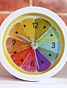 nouveau style rural fraiche fruits de citron reveil modernes horloges de bureau minimaliste paresseux d\'horloge de montre