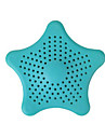 Silicone Five-pointed Star Floor Drain
