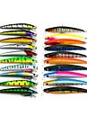 20 개 낚시 미끼 루어 팩 멀티 컬러 g/온스,9.5 CM:11.5CM mm 인치,소프트 플라스틱 바다 낚시