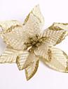 Feliz Natal! novas 13cm 6 cores flor do natal decoracao flores artificiais xmas enfeite de arvore de natal enfeite de natal