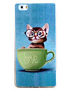 For HUAWEI P9 P8 Lite Case Cover Cat Pattern TPU Material Phone Shell for Y5C Y6 Y625 Y635 5X 4X G8