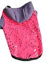 Chat Chien Pulls a capuche Vetements pour Chien Decontracte / Quotidien Couleur Pleine Orange Rouge Rose Rouge Costume Pour les animaux