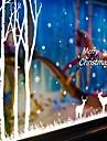 Natal / Desenho Animado / Feriado Wall Stickers Autocolantes de Avioes para Parede Autocolantes de Parede Decorativos,PVC Material