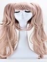 Perruque Synthetique Droit Avec queue de cheval Avec Frange Blond Femme Sans bonnet Perruque de carnaval Perruque Halloween Perruque de