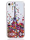 Для Ультратонкий Кейс для Задняя крышка Кейс для Эйфелева башня Мягкий TPU AppleiPhone 7 Plus / iPhone 7 / iPhone 6s Plus/6 Plus / iPhone
