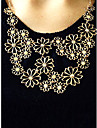 Women\'s Statement Necklaces Flower Alloy Adjustable Festival/Holiday Costume Jewelry Jewelry For Party Gift Daily Office & Career