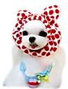 고양이 강아지 반다나 & 모자 강아지 의류 귀여운 휴일 패션 레오파드 커피 레드 핑크 코스츔 애완 동물