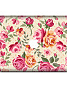 1 pc Skin Sticker for Scratch Proof Flower Pattern PVC MacBook Pro 15\'\' with Retina MacBook Pro 15\'\' MacBook Pro 13\'\' with Retina MacBook