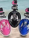 Masques de plongee Masque de Snorkeling Set de Snorkeling Masues Integrales Equipement de Securite Protectif 180 degres Haut Etanche
