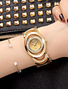 Women's Quartz Wrist Watch / Bracelet Watch Imitation Diamond Alloy Band Charm / Sparkle / Vintage / Casual / Elegant / Fashion / Bangle