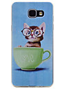 For Samsung Galaxy A510 A310 Kitten Pattern TPU High Purity Translucent Soft Phone Case