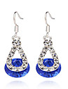 MPL fashion diamond resin Earrings Elegant Classical Feminine Style