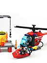 Action Figures & Stuffed Animals Building Blocks For Gift  Building Blocks Machine Ship Helicopter ABS 5 to 7 Years 8 to 13 Years 14