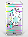 Happy Unicorn  TPU Case For Iphone 7 7Plus 6S/6 6Plus/5S SE iPhone Cases