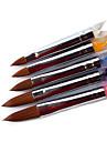 5pcs nail art acrylic pen brush no 4 12