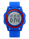 SKMEI Мужской Спортивные часы Модные часы LED Календарь Секундомер Защита от влаги тревога Хронометр Фосфоресцирующий Цифровой PU Группа