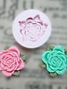 Цветок с листьями силиконовые формы Фондант Пресс-формы Сахар Craft Инструменты Смола цветы Плесень пресс-формы для тортов