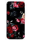 For iPhone X iPhone 8 iPhone 7 iPhone 7 Plus iPhone 6 Case Cover Pattern Back Cover Case Flower Soft TPU for Apple iPhone X iPhone 8 Plus